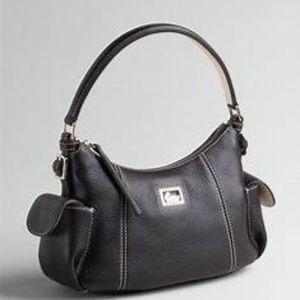 Black Dooney & Bourke Leather Hobo